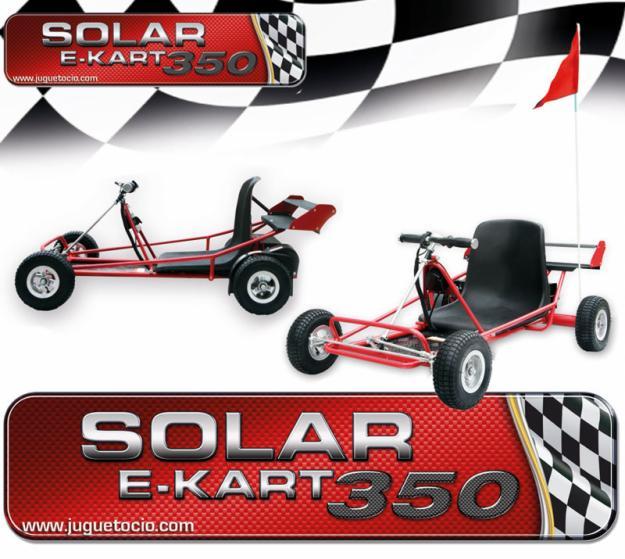 Descubre a los E-kart Solar 350W los nuevos karts eléctricos