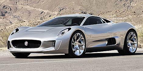 Conoce el Jaguar C-X75
