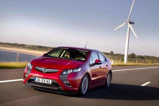 Modelos de vehículos eléctricos de Opel