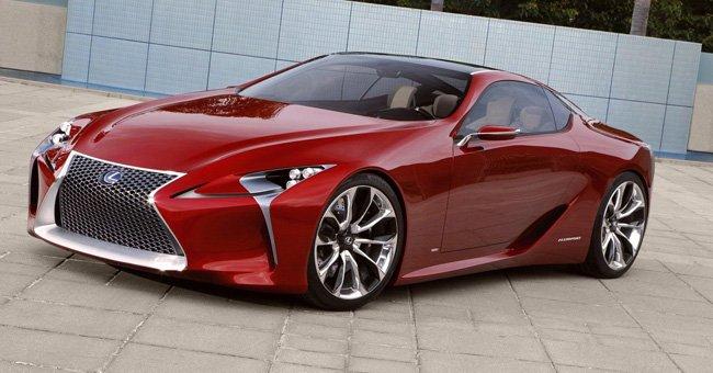 Tecnología de futuro: Lexus LF-LC
