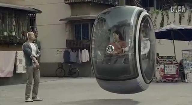 Los automóviles voladores de Volkswagen