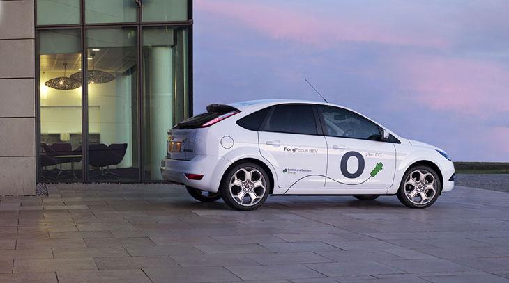 Conoce los vehículos eléctricos de Ford