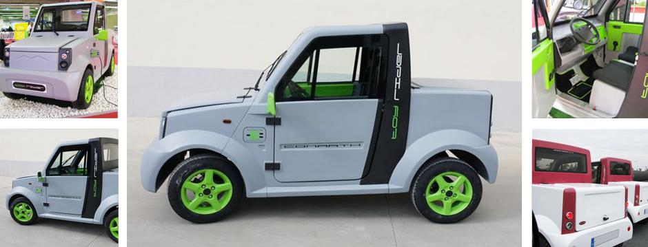 Conoce los vehículos eléctricos de Comarth