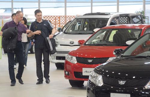 Las estadísticas de ventas en Japón de Toyota