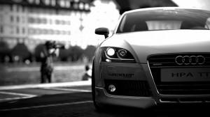 El automóvil del futuro de la voz de Audi
