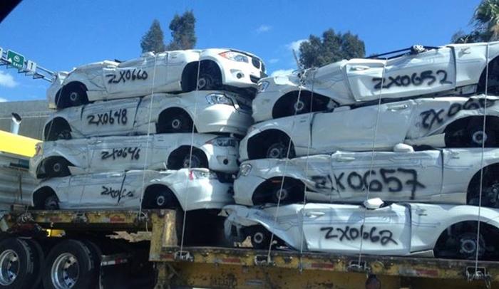 BMW está destruyendo su modelo Active E