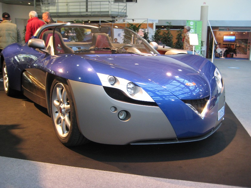 Ever Mónaco, feria del automóvil ecológico