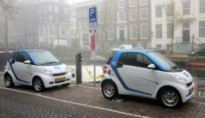 App Autos compartidos para mejorar el medio ambiente