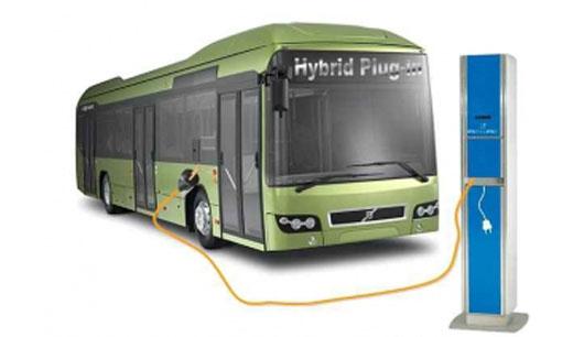 Cargador para autobuses eléctricos urbanos