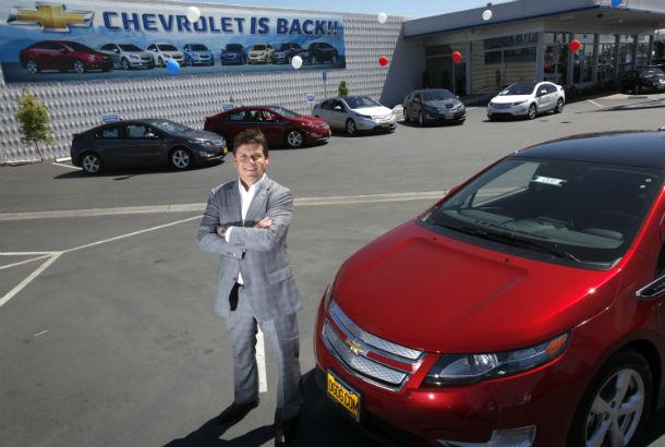Chevy volt: un vehículo ecológicamente exitoso