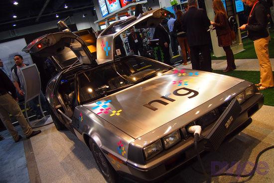 De regreso al futuro con el DeLorean eléctrico