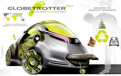 Globetrotter, el coche ecológico