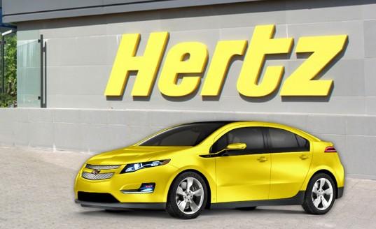 Hertz y su sistema de alquiler de vehículos ecológicos