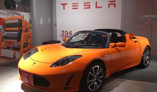 La compañía Tesla llega a España