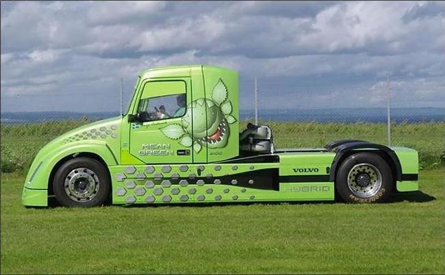 Conducción eficiente en camiones