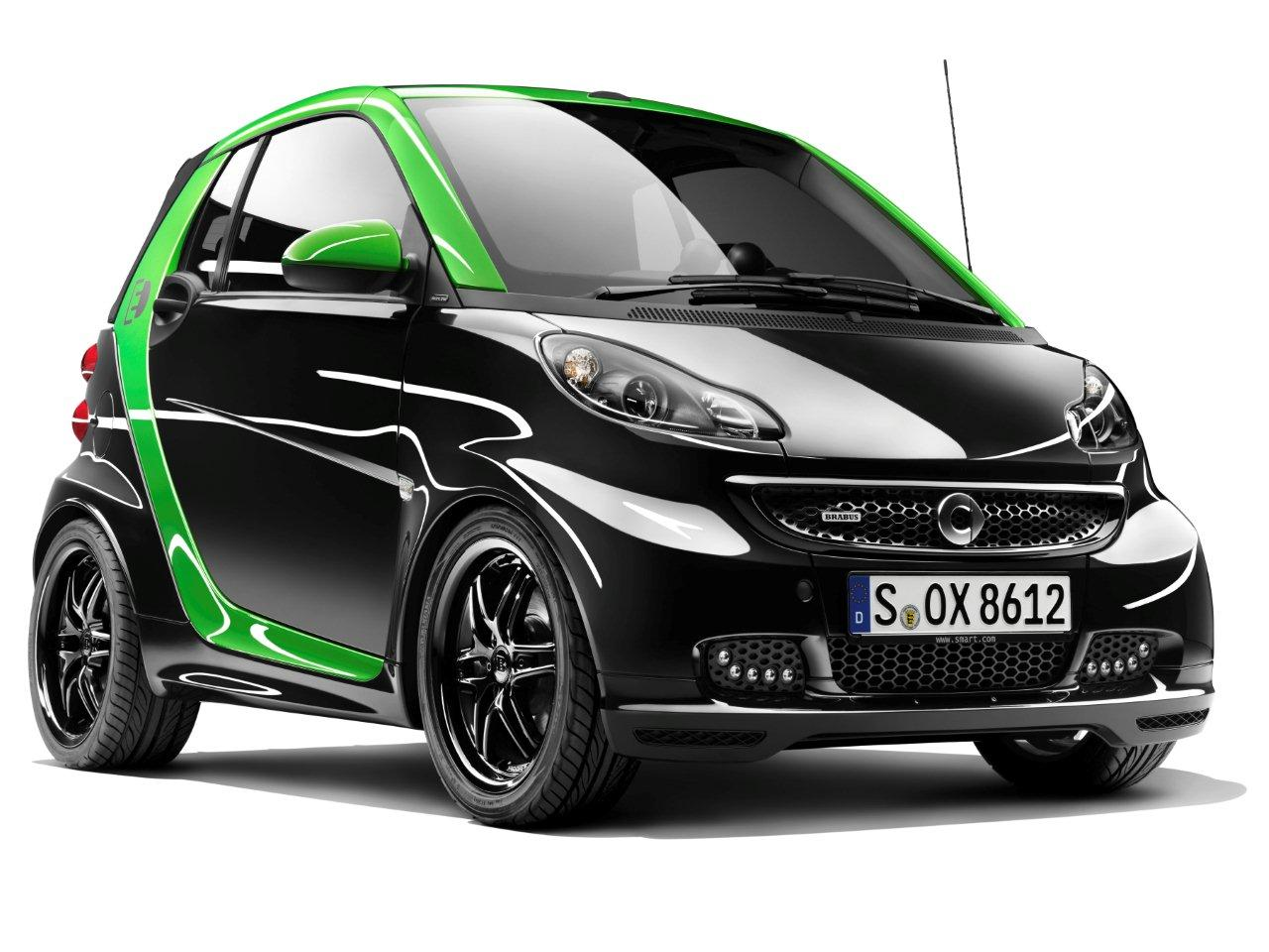 Smart BRABUS electric drive llega este año