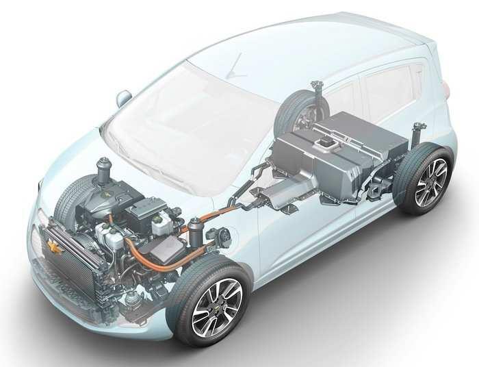 Spark General Motors Chevrolet auto eléctrico