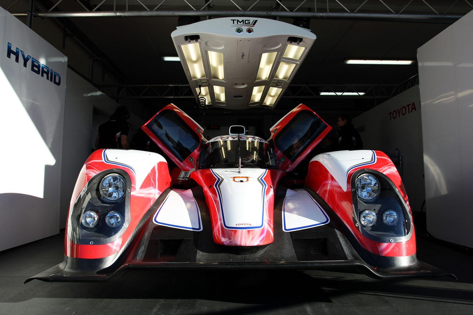 Toyota híbrido Le Mans
