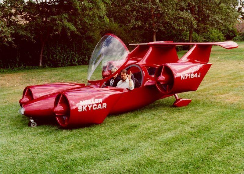 Vehículos voladores toda una realidad