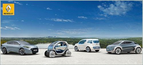 Los últimos modelos de vehículos eléctricos de Renault