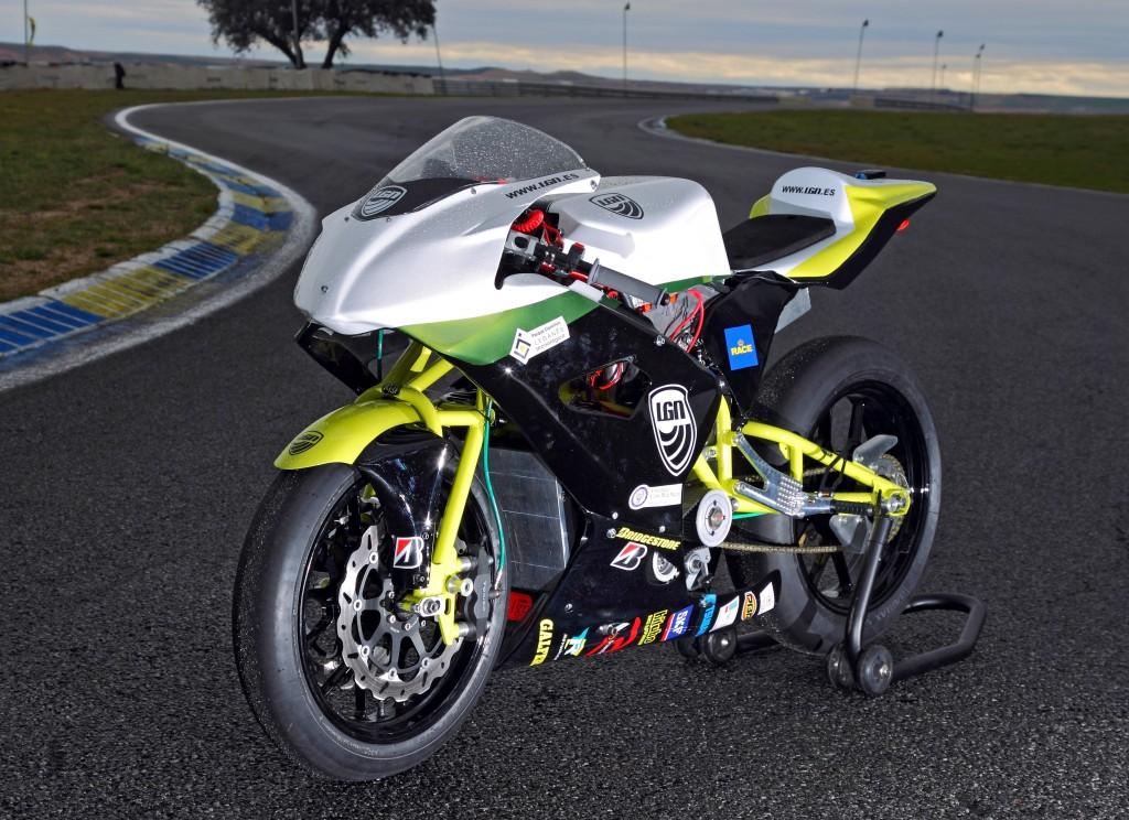 Motocicletas eléctricas de competición