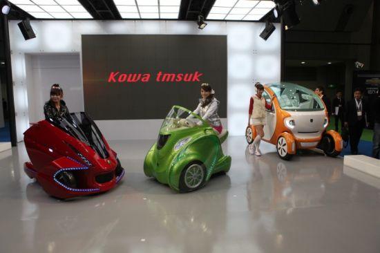 Los nuevos mini vehículos eléctricos