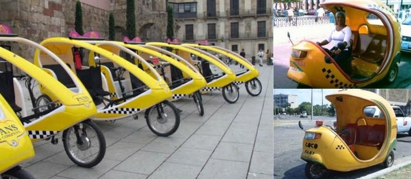 Los mototaxis ecológicos llegan a Madrid