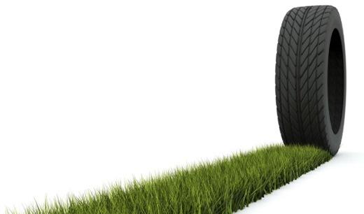 Los neumáticos ecológicos para un automóvil eficiente